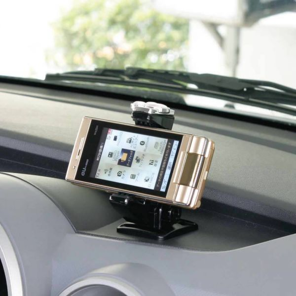 NAPOLEX  Disney Mickey Mouse Kawaii Cell Phone Holder WD-228 Car Accessory .
